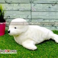 Boneka Seal Anjing Laut Putih ( HK - 620230 )