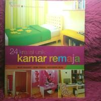 24 kreasi kamar remaja/griya kerasi/buku dekorasi kamar/buku murah