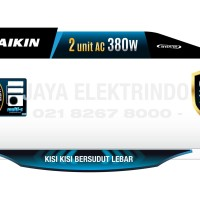 AC DAIKIN MULTI S 2 Koneksi MKC 70 SVM (2 PK + 2 PK)