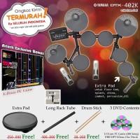 Drum Elektrik Yamaha DTX402K with XtraPad - DTX402 - DTX 402 - 402K
