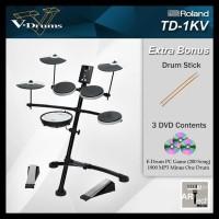 Hot Promo Drum Elektrik Roland Td1Kv . Td 1Kv . Td1 Kv Vdrums