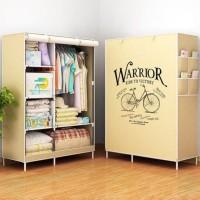 Harga best seller murah ready stock terbatas lemari rak pakaian   Pembandingharga.com