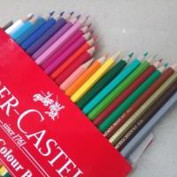 Pensil Warna 24 Classic Colour Pencils Fabel Castell