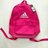 Harga branded original adidas backpack tas ransel hot pink sisa export | Pembandingharga.com