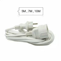 Sambungan kabel listrik / colokan kabel listrik 4 meter