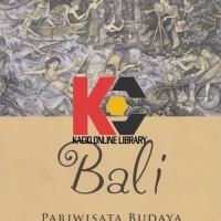 Buku Bali Pariwisata Budaya dan Budaya Pariwisata. Michel Picard