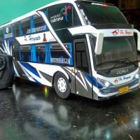 Miniatur Bus Haryanto SDD RC