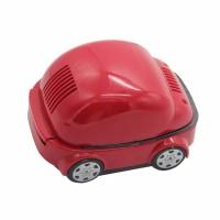 Asbak bentuk mobil tanpa asap / smokeless Ashtray penghisap bebas asap - Merah