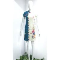 Mini Dress Batik Cheongsam IMLEK 2 warna - Tosca