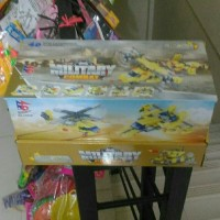 Brick Merk Fengdi Toys 6 in 1 Military Combat