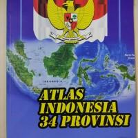 Buku Atlas Indonesia Lengkap untuk SD, SMP, SMA, dan Umum