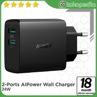 Aukey PA-U42 Amp Wall Charger 2 Port Aipower -H426