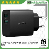 Aukey PA-U42 Amp Wall Charger 2 Port Aipower -H427