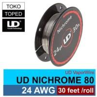 Authentic UD Nichrome 80 Wire 24 AWG | 0.5mm | vaporizer vapor rda