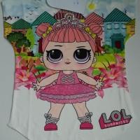 Kaos Anak Perempuan merk Coco Ice Koleksi LOL