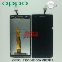 LCD TOUCHSCREEN OPPO R3001 R3006 MIROR 3 HITAM