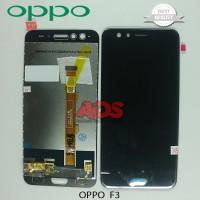 LCD TOUCHSCREEN OPPO F3 HITAM