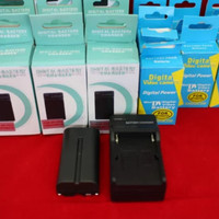 Paket Battery+Charger For LED
