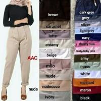 beige pants / celana beige/ up to date/celana basic/ basic pants/