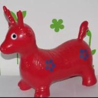 Jumping Animal Mainan tunggang kuda kudaan karet