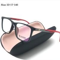 Frame kacamata Pria Fashion kacamata Ferarri M-0100 Super modis