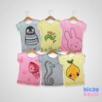 Kazel Tshirt Mermaid 6in1 - kaos anak perempuan