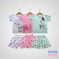 Kazel –Girl Set 3in1–Elephant-setelan anak perempuan