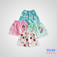 Kazel Jobel Girl Shorts Strawberry 4in1-celana anak perempuan