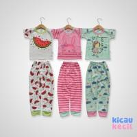 Kazel – Pajamas 3in1 – Bunny - baju tidur anak perempuan