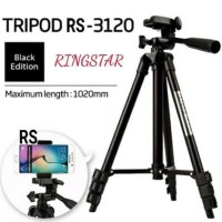 FE061 TRIPOD RINGSTAR RS-3120A+ HOLDER U UNIVERSAL FOR SMARTPHONE 1M