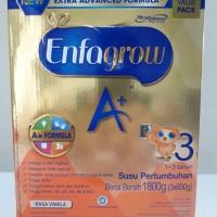 Susu Enfagrow 3 1800 g / 1800 gram (3 x 600 g) Vanila / Vanilla