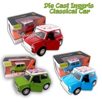 Diecast Inggris Classical Car Cars UK Miniatur Mobil Mainan Anak