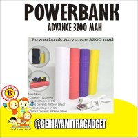 Powerbank Advance 3200 Mah - Berjayamitra Gadget