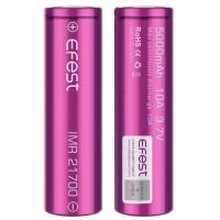 Efest Purple IMR 21700 Li-Mn Battery 5000mAh 3.7V 10A with Flat Top