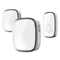 Bel Pintu Wireless Doorbells Waterproof 36 Nada - A101/2 - Putih - 2