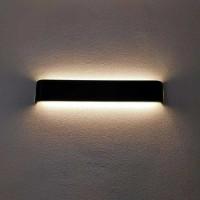 Lampu Hias Dinding LED Minimalis Aluminium 12W - Black White