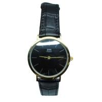 ESS Jam Tangan Analog Pria Luxury Men Leather Strap - WM513 - Gold