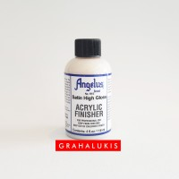Angelus Satin no 615 High Gloss Acrylic Finisher 4 fl.oz
