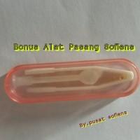 Harga paling terlaris softlens x2 clear soflens bening minus bonus | antitipu.com