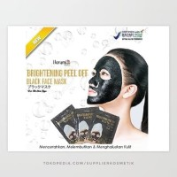 Sachet [ BLACK ] Harumi Black Face Mask Brightening Peel Off