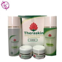 [ Paket GLOWING ] Theraskin glowing cream skin care