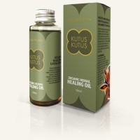 MINYAK KUTUS-KUTUS HEALING OIL 100 ML ORGANIC HERBAL