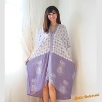 Harga ready kaftan batik wayang kaftan modern fatimah eliza dress | Pembandingharga.com