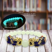 Gelang Double Pi Xiu (Berubah Warna) Glow In The Dark (GCS22)
