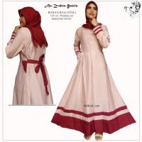 Dress kombinasi/gamis muslim wanita/gaun wanita kombinasi