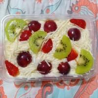 Salad Buah Large 750ml ala kewpie mayo yogurt