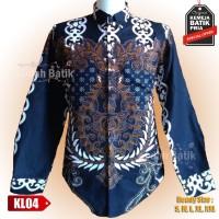 Kemeja Batik Cowok Long