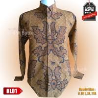 Kemeja Batik Pria Long