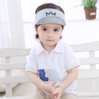Harga topi bayi laki laki perempuan lucu bahan katun campuran untuk musim   antitipu.com