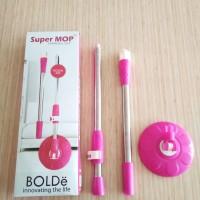 Tongkat + Kepala / Handle Set Supermop Bolde Original Bolde Pel Murah